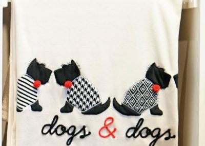 Plaid 2 dogs&dogs